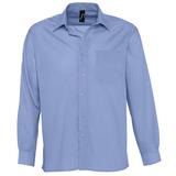РубашкаBaltimore, васильковый, 65% полиэстер, 35% хлопок, 105г/м2 фото