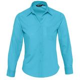 РубашкаExecutive, бирюзовый, 65% полиэстер, 35% хлопок, 105г/м2 фото