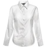 Рубашка женская Lady-Fit Long Sleeve Oxford Shirt, белый фото