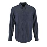 Рубашка мужская BARRY MEN, синяя (деним) фото