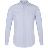 Рубашка мужская BEVERLY MEN, белая с синим фото