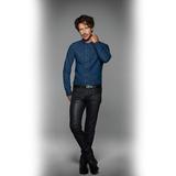 Рубашка мужская DNM Vision/men, синяя фото