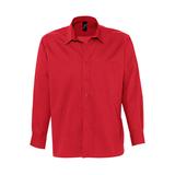 Рубашка мужская с длинным рукавом BRADFORD красная фото