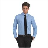 Рубашка мужская с длинным рукавом Oxford LSL/men, голубая фото
