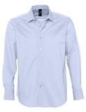 Рубашка мужская с длинным рукавом BRIGHTON голубая, голубой фото