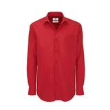 Рубашка мужская с длинным рукавом Heritage LSL/men, красная фото