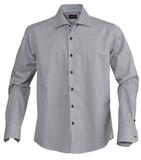 Рубашка мужская в клетку TRIBECA, черная фото