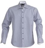 Рубашка мужская в полоску RENO, темно-синяя фото
