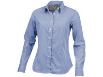 Рубашка Net женская с длинным рукавом, синий фото