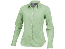 Рубашка Net женская с длинным рукавом, зеленый фото