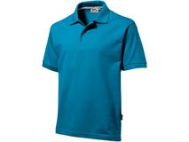 Рубашка поло мужская Slazenger Forehand, аква фото
