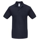 Рубашка поло Heavymill темно-синяя фото