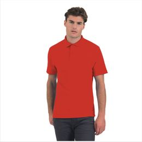 Рубашка поло ID.001, красная фото
