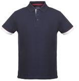 Рубашка поло мужская ANDERSON, темно-синяя фото