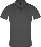 Рубашка поло мужская PERFECT MEN 180 темно-серая фото