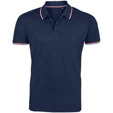 Рубашка поло мужская Prestige Men, темно-синяя фото