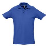 Рубашка поло мужская SPRING 210, ярко-синяя (royal) фото