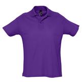 Рубашка поло мужская SUMMER 170, темно-фиолетовая фото