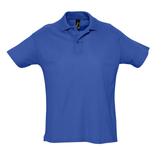 Рубашка поло мужская Sol's Summer 170, ярко-синяя фото