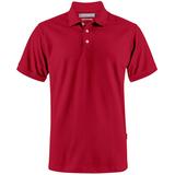 Рубашка поло мужская Sunset, красная фото