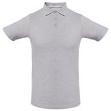 Рубашка поло мужская Unit Virma Light, серый меланж фото
