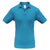 Рубашка поло Safran бирюзовая, бирюзовый фото