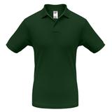 Рубашка поло Safran темно-зеленая, зеленый фото