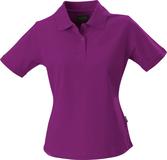 Рубашка поло стретч женская ALBATROSS, лиловая фото