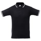 Рубашка поло Virma Stripes, черная фото