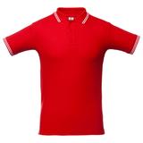 Рубашка поло Virma Stripes, красная фото