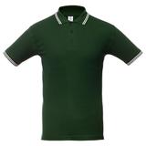 Рубашка поло мужская Unit Virma Stripes, зеленая фото