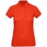Рубашка поло женская Inspire, красная фото