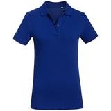 Рубашка поло женская Inspire синяя, синий фото