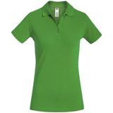 Рубашка поло женская Safran Timeless зеленое яблоко, салатовый, зеленый фото