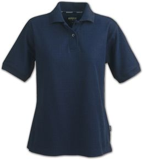 Рубашка поло женская SEMORA, темно-синяя фото