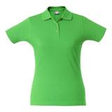 Рубашка поло женская SURF LADY, зеленое яблоко фото