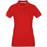 Рубашка поло женская Virma Premium Lady, красная фото