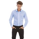 Рубашка с длинным рукавом London, размер XL, голубая фото