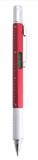 Ручка с мультиинструментом SAURIS, красный, 100% пластик фото