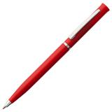 Ручка шариковая Euro Chrome, красная фото