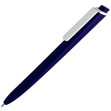 Ручка шариковая Pigra P02 Mat, темно-синяя фото