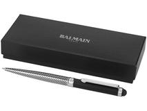 Ручка-стилус шариковая Balmain Empire, черный/серый фото