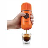 Ручная мини-кофемашина WACACO Nanopresso, оранжевый фото