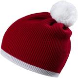 Шапка Amuse, красная с белым фото