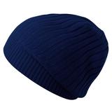 Шапка Stripes, темно-синяя фото