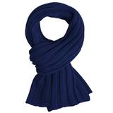 Шарф Chain, темно-синий фото