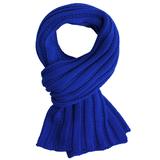 Шарф Chain, ярко-синий фото