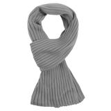Шарф Stripes, серый фото