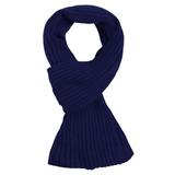 Шарф Stripes, темно-синий фото
