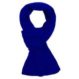 Шарф Stripes, ярко-синий фото